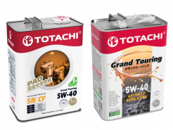 TOTACHI 5W-40 GRAND TOURING - cинтетическое моторное масло
