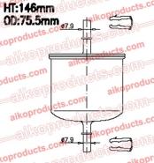 AIKO Топливный фильтр JF 800 для Mazda