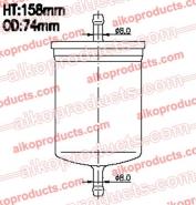 AIKO Топливный фильтр JB 2070 для BMW, Volkswagen, Mercedes