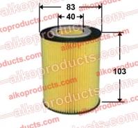 AIKO Масляный элемент Aiko OE 0027 для BMW