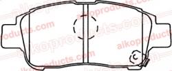 Тормозные колодки AIKO PN 1471 / PN 1432 для Toyota