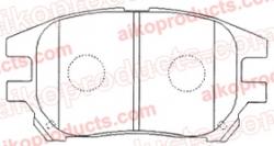 Тормозные колодки AIKO PN 1481 для Toyota, Lexus