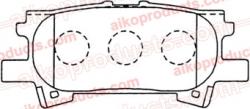 Тормозные колодки JMBK PN 1498R для Toyota, Lexus