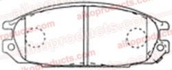 Тормозные колодки AIKO PN 2371R/PN 2269 для Nissan