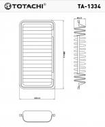 TOTACHI Воздушный фильтр TA - 1334 для Toyota Avensis, для Toyota Corolla
