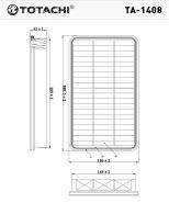 TOTACHI Воздушный фильтр TA-1408 для Toyota