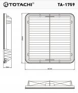 TOTACHI Воздушный фильтр TA-1759  для Subaru