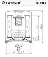 TOTACHI Масляный фильтр TC-1065  для Ford, Mitsubishi, Mazda, Hyundai